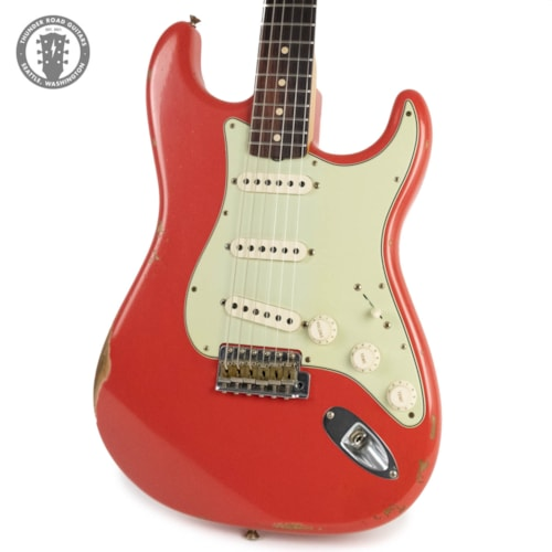 Brand New Fender Custom Shop 1960 Relic Stratocaster Fiesta Red