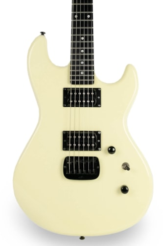 2014 G&L Jerry Cantrell Superhawk White