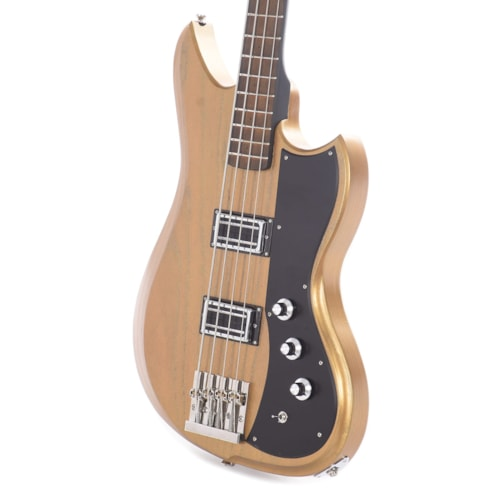 Dunable Yeti Bass Roasted Swamp Ash Transparent Gold w/Baphomet Pickups (Serial #2202)
