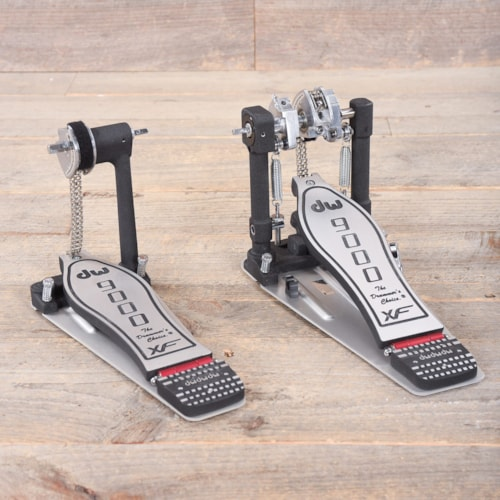 9000 Series Extended Footboard Double Bass Drum Pedal USED