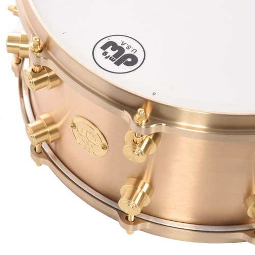 DW 6.5x14 True Cast Bell Bronze Snare Drum