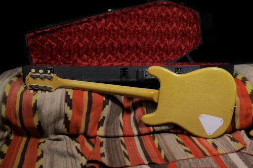 Dwight Coronet TV Yellow