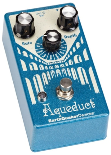 EARTHQUAKER DEVICES Aqueduct Vibrato Effects Pedal Brand New $199.00