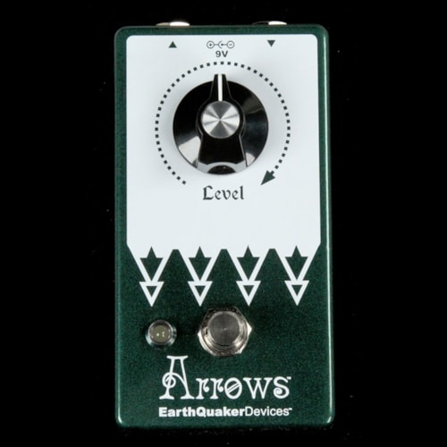 EarthQuaker Devices Arrows V2 Preamp Boost Effects Pedal Brand New