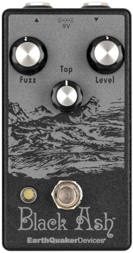 EARTHQUAKER DEVICES Black Ash Fuzz Brand New