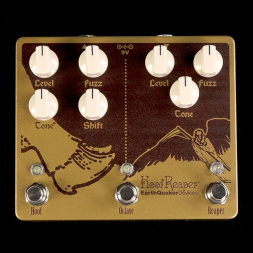EarthQuaker Devices Hoof Reaper Fuzz/Distortion V2 Effects Pedal Brand New $299.00
