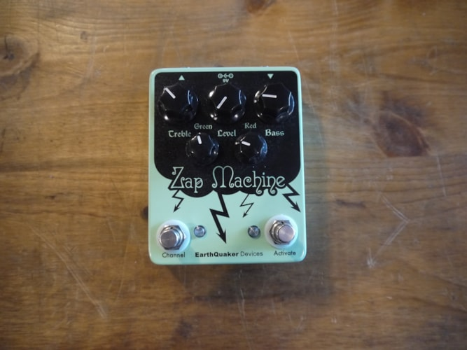Earthquaker Devises Zap Machine teal, Brand New