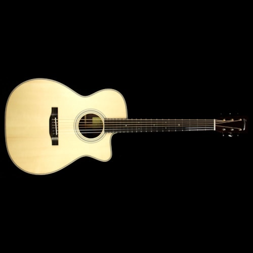 Eastman E20OMCE Orchestra Acoustic Guitar Natural