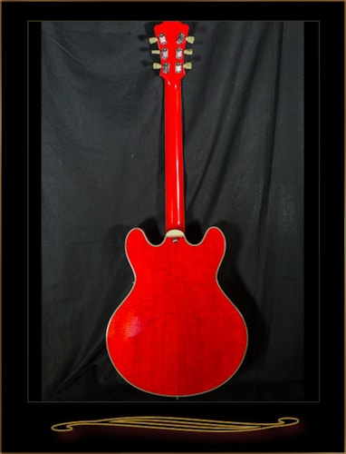 EASTMAN T486B-RD Thinline with Bigsby Red, Brand New, Original Hard, $1,159.00