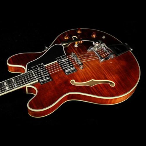 EASTMAN T486B Thinline Semi-Hollow Electric Guitar Antique Varnish Brand New, $1,159.00