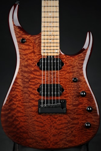Ernie Ball Music ManEddie's Guitars Exclusive BFR JP15 - Pomelle Sapelle/Roasted Birdseye Maple