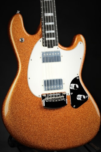 Ernie Ball Music Man BFR StingRay Guitar - Atomic Orange/#39 of 51