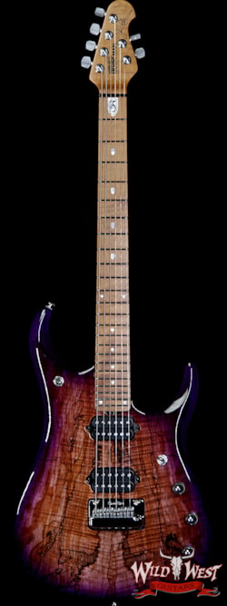 2019 Ernie Ball Music Man BFR JP15 Piezo #28 of 84 Spalted Maple Top