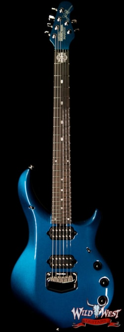 Ernie Ball Musicman Ernie Ball Music Man Majesty 6 Kinetic Blue Ebony Fingerboard