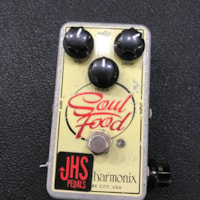 Electro Harmonix and JHS Soul Food with Meat and Three Mod