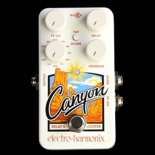 Electro-Harmonix Canyon Delay and Looper Effect Pedal Brand New