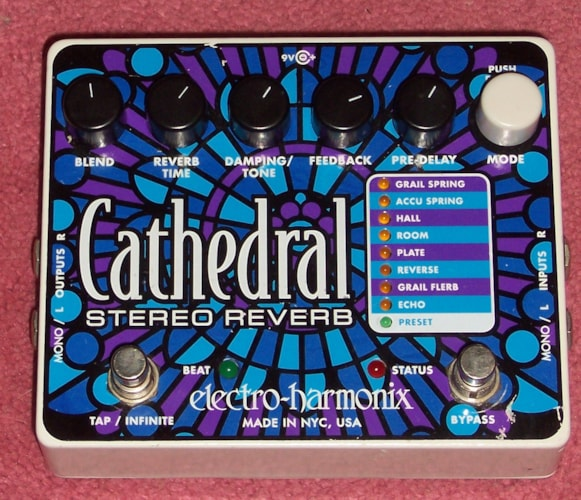 ELECTRO HARMONIX Cathedral Stereo Reverb Excellent, Call For Price!