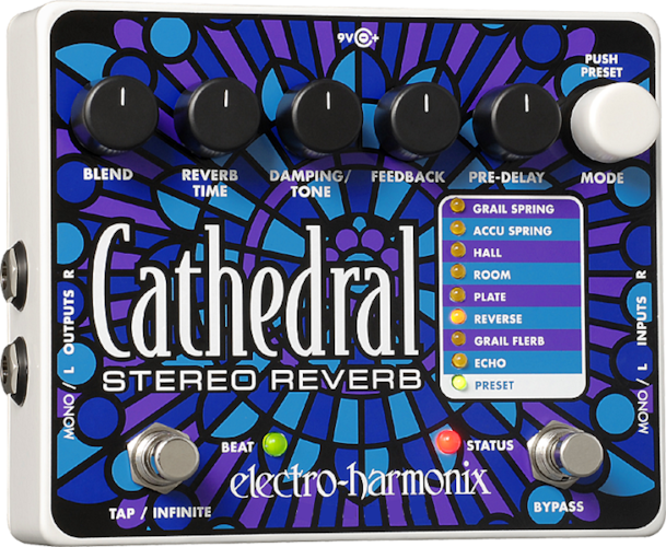 ELECTRO-HARMONIX EHX Cathedral Stereo Reverb Brand New $221.30