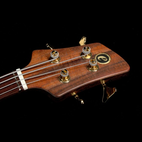 Elrick eVolution Gold Series 4-String Bass Koa Top Natural