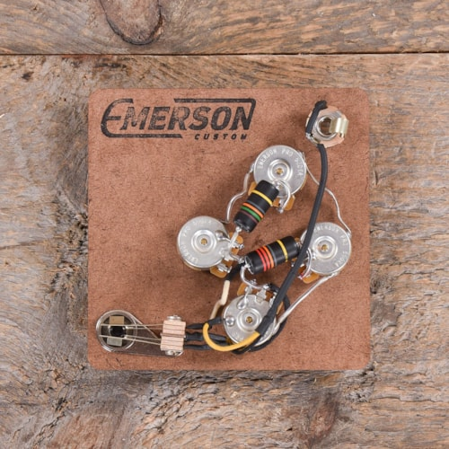 Emerson Custom Prewired Kit for SG (500K Pots, 0.022Uf & 0.015Uf Bumblebee Capacitors) USED