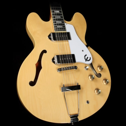 Epiphone Casino Semi-Hollow Natural Excellent $499.00