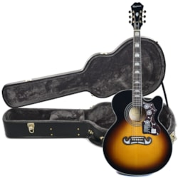 Epiphone EJ-200SCE Solid Top Acoustic-Electric