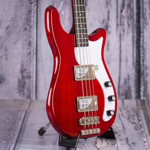 Used Epiphone Embassy Pro Bass, Dark Cherry
