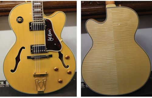 EPIPHONE  Emperor Joe Pass Archtop  Blonde, Excellent, Hard