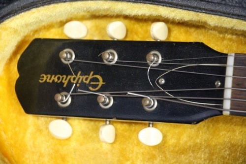 Epiphone USA Early 60's Epiphone Olympic Burst, Very Good, Original Hard, $1,495.00
