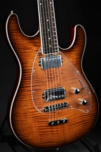 ERNIE BALL MUSIC MAN BFR Steve Morse - Carmel Burst/Signed #21 of 35 Brand New, Hard, $3,599.00