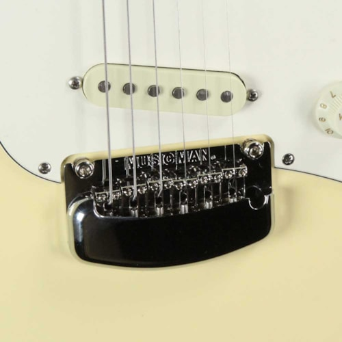 Ernie Ball Music Man Cutlass SSS BFR Cornsilk White