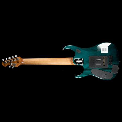 ERNIE BALL MUSIC MAN John Petrucci JP15 7-String Flame Teal Burst Excellent, $2,479.00