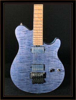 Ernie Ball Music Man LTD Edition BFR October 2018 Axis