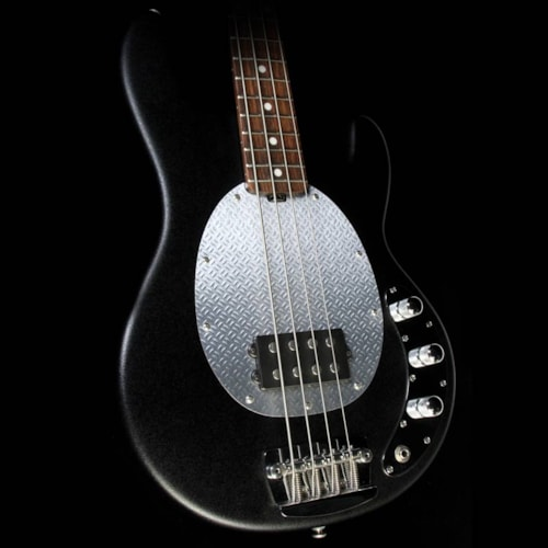ERNIE BALL MUSIC MAN Used Ernie Ball Music Man SUB Electric Bass Guitar Textured Black Excellent, $649.00