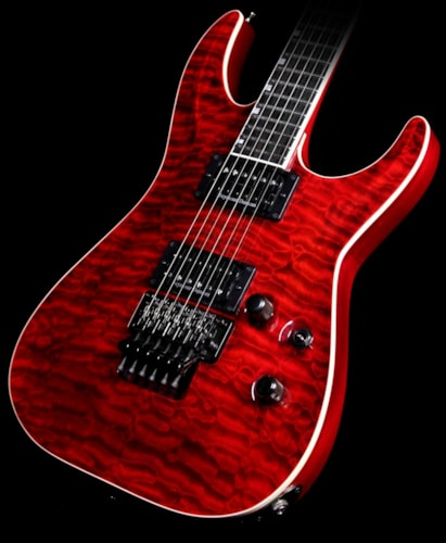 ESP Horizon FRII Standard Electric Guitar See-Thru Red See-Thru Red, Excellent, $1,399.00