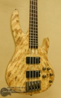 ESP /LTD B-204 Bass with Spalted maple Top - Natural Satin