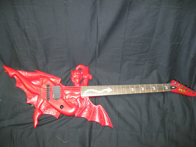 ESP/LTD Devil Girl Limited Edition Devil Red, Brand New, Original Hard