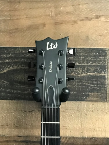 ESP LTD EC 1000 Stealth Matt Black, Very Good, Hard