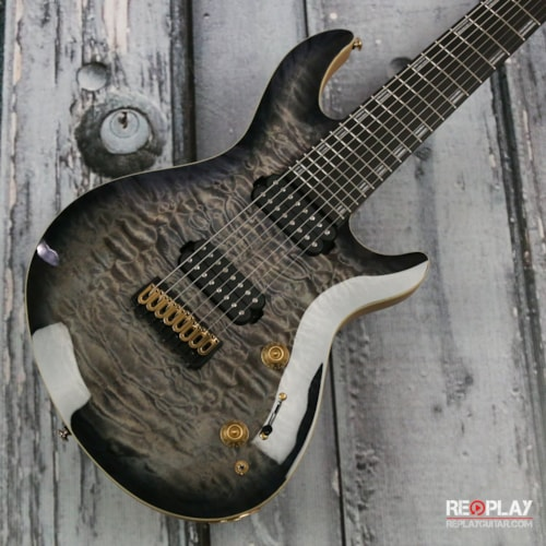 ESP LTD Javier Reyes JR-608 - Faded Blue Sunburst Brand New, $1,499.00