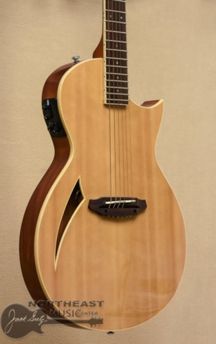 LTD TL6 Thinline Acoustic Guitar - Natural (Used)