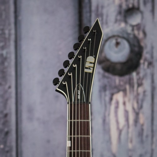 ESP LTD MH-417 7-String, Black Satin