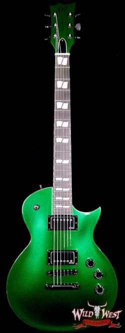 ESP USA Eclipse LTD Candy Apple Green Metallic NAMM