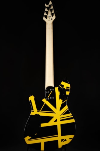 EVH Limited Edition Wolfgang Special - Black with Yellow Stripes Brand New