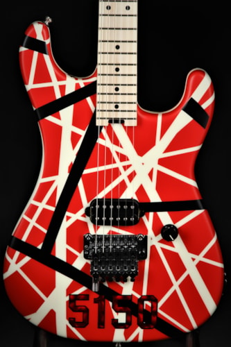 EVH Striped Series 5150 - Red, Black, and White Brand New