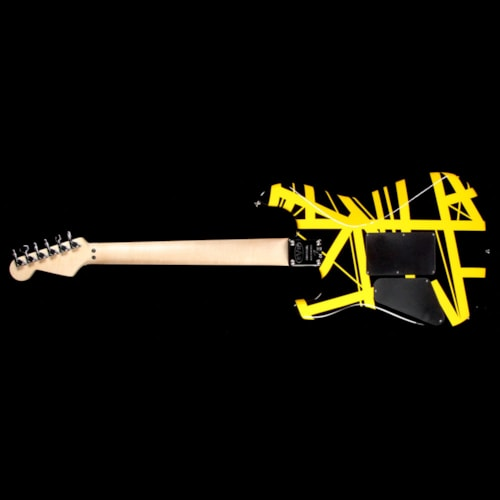 EVH Striped Series Black with Yellow Stripes Excellent $679.00