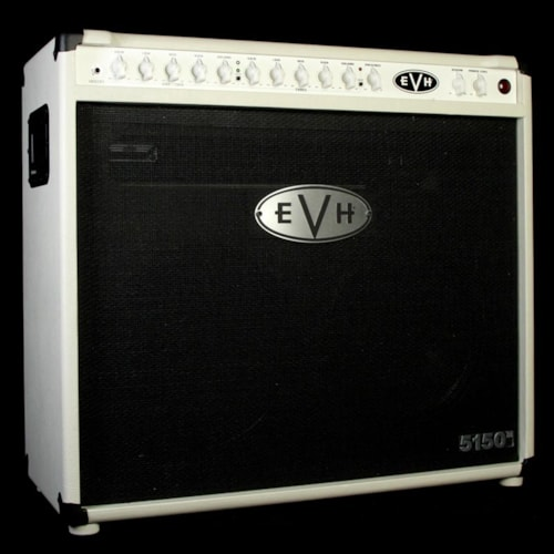 EVH Used EVH 5150III 2x12 50 Watt Tube Combo Amplifier Ivory Excellent, $999.00