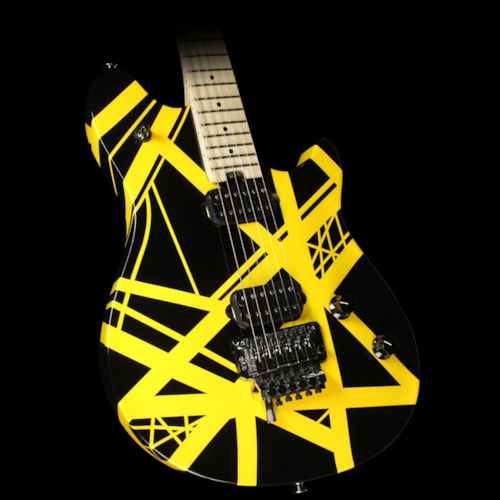 EVH Used EVH Wolfgang Special Electric Guitar Striped Black and Yellow