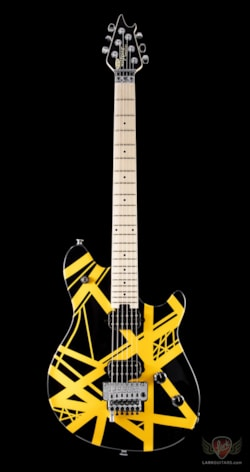 EVH Wolfgang Special Striped - Black and Yellow