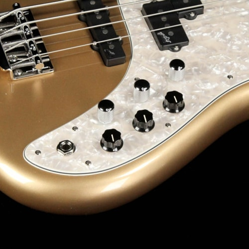 F Bass VF Series P/J Bass Gloss Gold