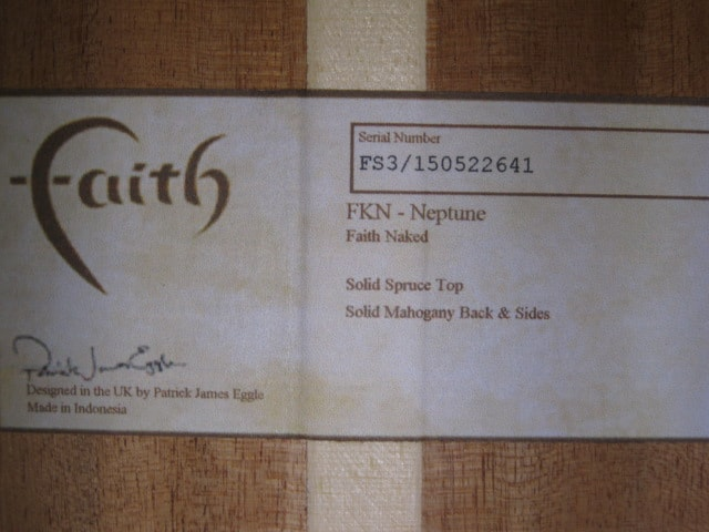 Faith FKN Natural, Brand New, $659.00